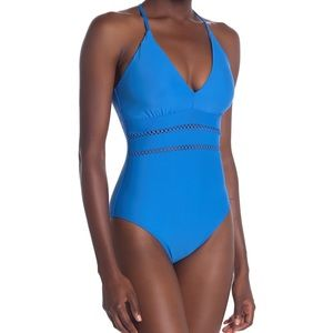 Athena Diamond Head One Piece Swimsuit NEW $110